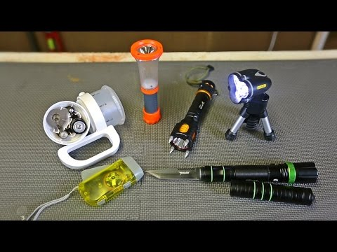 Thumbnail: 9 Flashlight Gadgets put to the Test