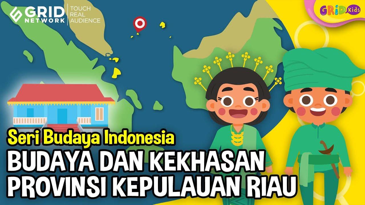 Pakaian Adat Kepulauan Riau Kartun