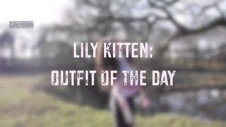 Lily Kitten: OOTD - Tie Dye & Disco Pants Thumbnail