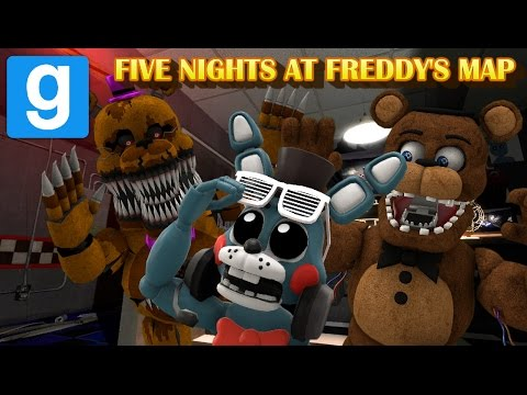 CRAZIEST NIGHTS EVER!! || FNAF Gmod Map || Zany Gmod #2