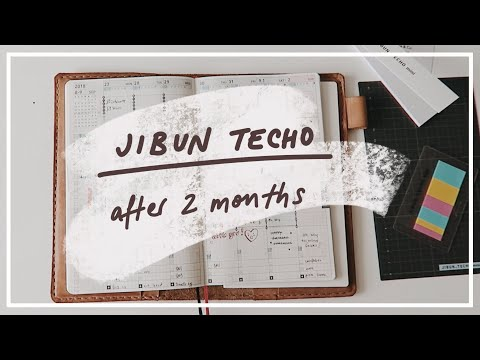 Jibun Techo: After 2 months + accessories
