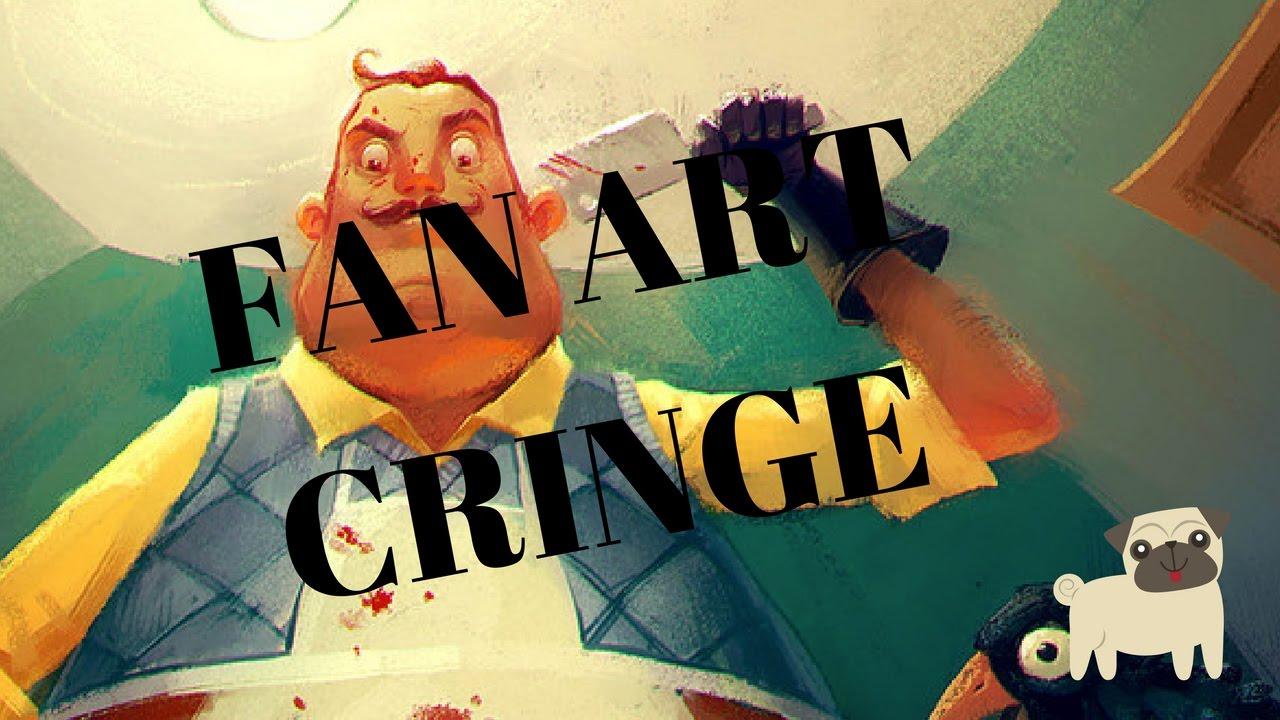 HELLO NEIGHBOR FAN ART CRINGE (Tumblr)