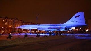 На Ту-144 установили подсветку