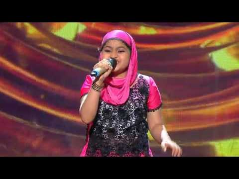 11 Year Old Yumna On SaReGaMaPa Lil Champs (ZEE TV Caribbean)