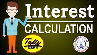 Interest Calculation in Tally ERP 9 Part-101| Learn Tally ERP 9 Accounting