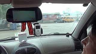 Видеобзор монитора-зеркала и камеры заднего вида