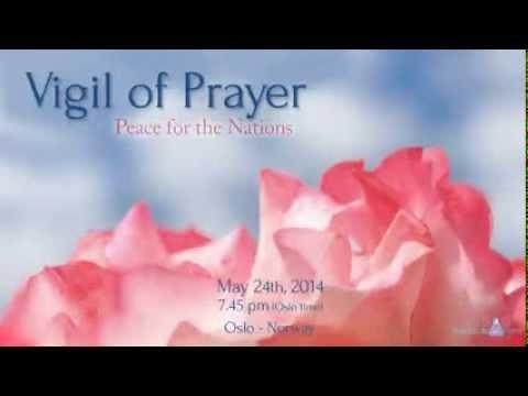 Vigil of prayer Oslo - Norway 24/5/14