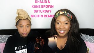 Khalid, Kane Brown - Saturday Nights REMIX (Official Video) Reaction