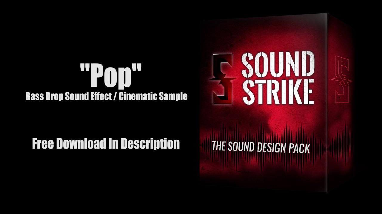 Bass Drop Sound Effect
