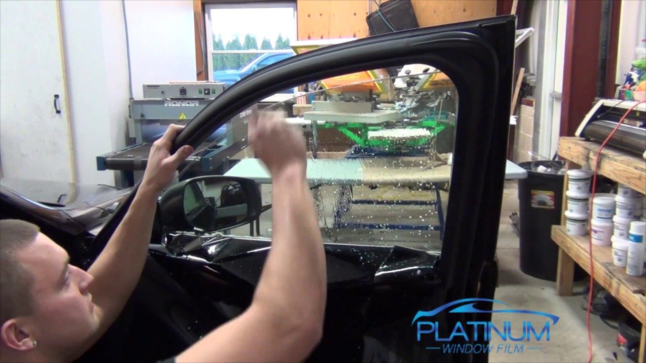 How To Remove Window Tint From a Roll Down Window ...
