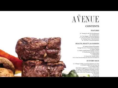 The Avenue Magazine July/Agust Issue