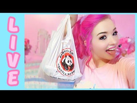LIVE Panda Express Eating Show!