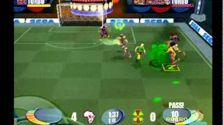 SEGA Soccer Slam PS2 gameplay ( 2 Player ) Playstation 2