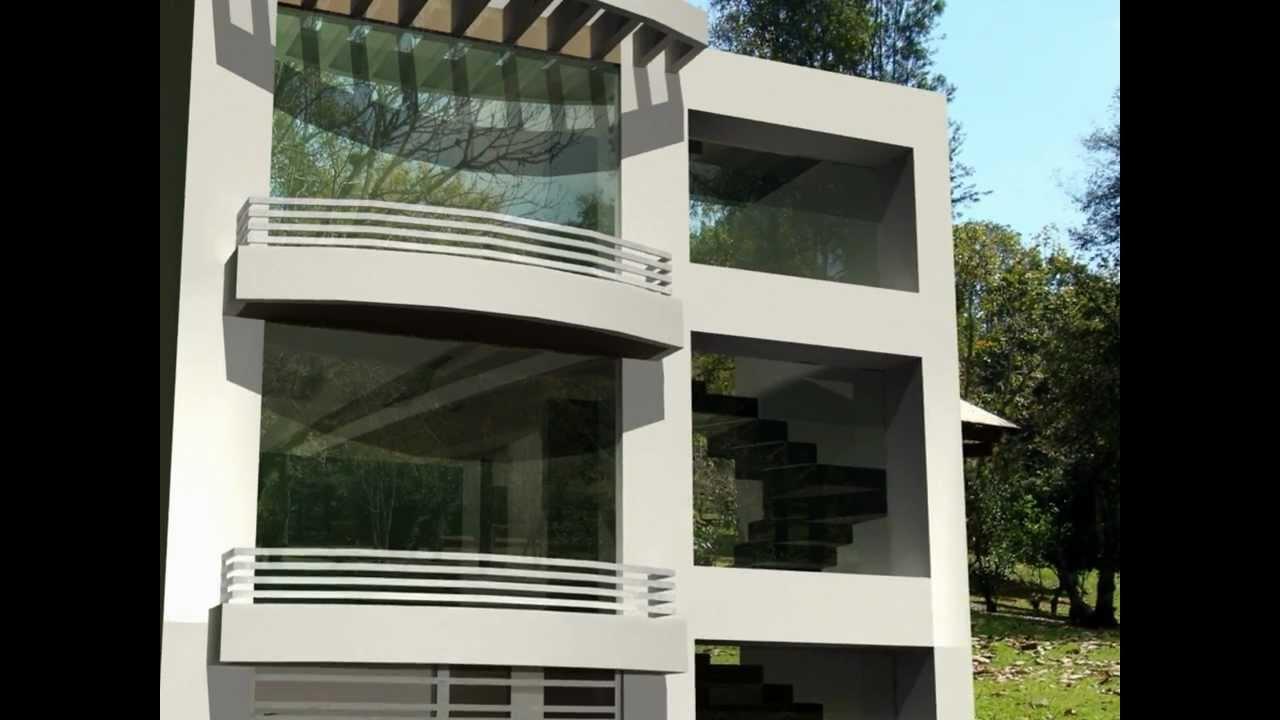 Edificio de apartamentos tipo medio residencial youtube - Edificios minimalistas ...