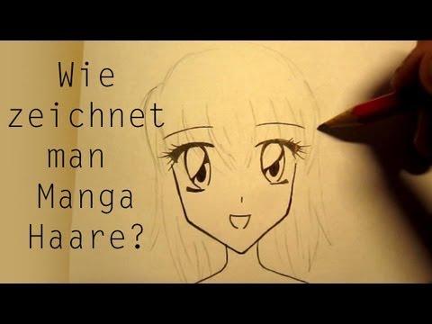Wie Zeichnet Man Manga Haare Youtube