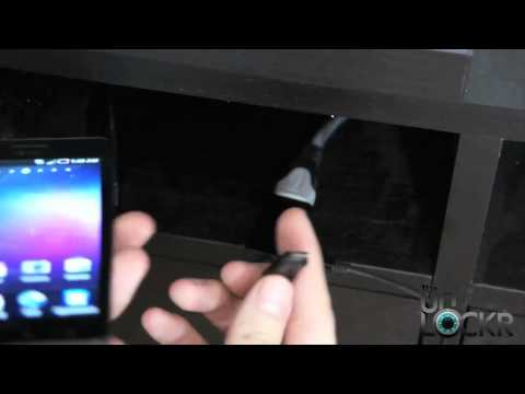 How To Display Your Samsung Infuse 4G Screen on Your TV