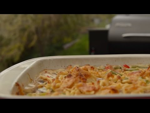 Simple Holiday Green Bean Casserole Recipe by Traeger Grills