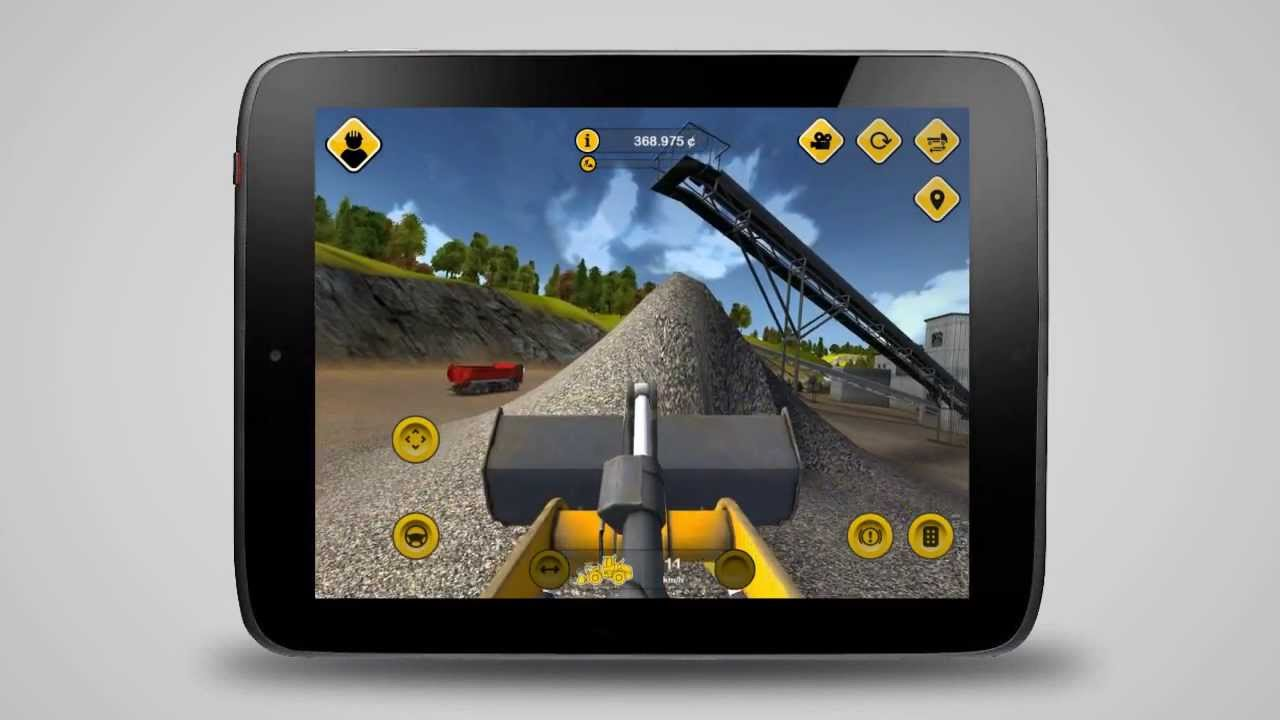 Construction Simulator 2014 (Android) - Trailer