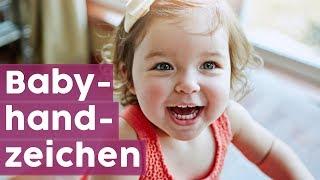 Babyzeichensprache: Lerne die ersten vier Babyzeichen im Video! 👶🖐️| MOM-LIFE