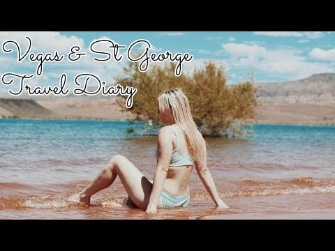 VEGAS & ST. GEORGE TRAVEL DIARY | KendraCus