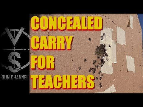Concealed Carry for Teachers: REAL TALK