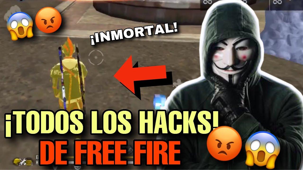 TODOS LOS HACKS QUE HAN EXISTIDO EN LA HISTORIA DE FREE FIRE || LG-sus Free Hacker