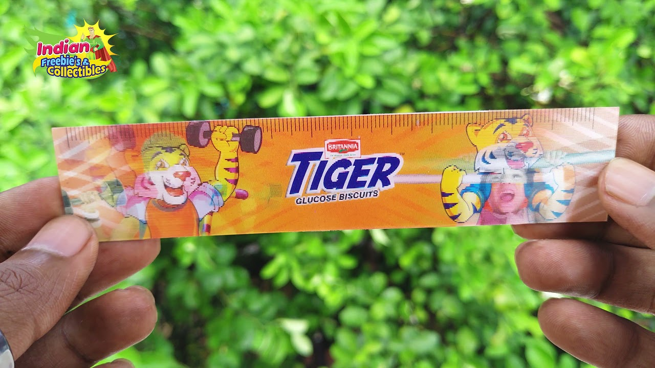 Britannia Tiger Biscuits Stickers, Cards Freebies Collection From India