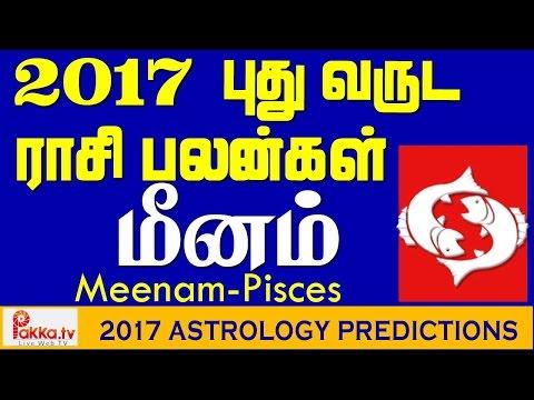 Meenam (Pisces) Yearly Astrology Horoscope 2017 | New Year Rasi Palangal 2017