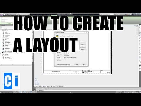 AutoCAD How to Create Layouts - New Layout Tutorial