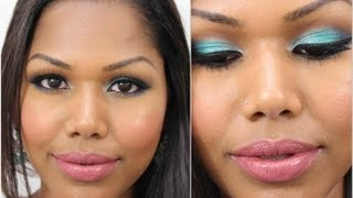Get ready with me: School makeup with Color (feat Mac Fast Play lipstick) Thumbnail