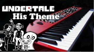 Undertale OST - His Theme / Undertale Main Theme Piano Cover