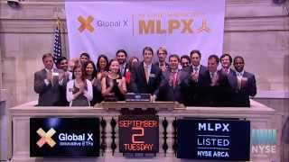 Global X Funds Celebrates Launch of Global X MLP Energy Infrastructure ETF