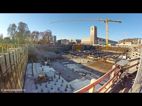 Stuttgart 21 Tag der offenen Baustelle Januar 2017