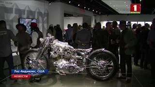 Кастомизированные мотоциклы выставили в Автомобильном музее Петерсена в Лос-Анджелесе