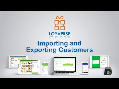 Importing And Exporting Customers — Loyverse