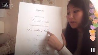 Уроки каллиграфии. Nikolietta Periscope 3. Главный шрифт каллиграфа
