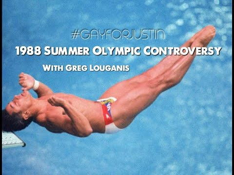"Greg Louganis ""Worlds Greatest Diver"" opens up about being HIV Positive - #GAYFORJUSTIN"