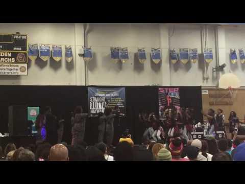 MLK Middle School Hayward- Battle Step 2016