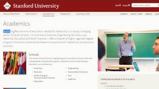 Ask an Upperclassman #1 - Academics at Stanford