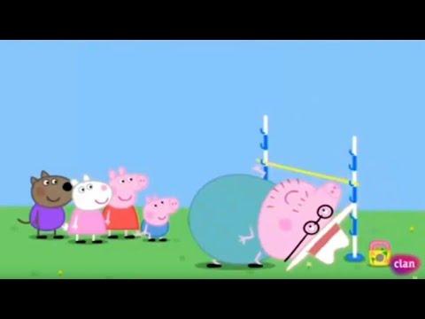 Peppa pig - juegos de jardín capítulo completo en español latino