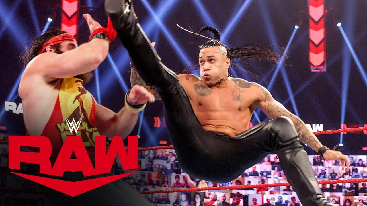 Damian Priest w/ Bad Bunny vs. Elias: Raw, Mar. 1, 2021