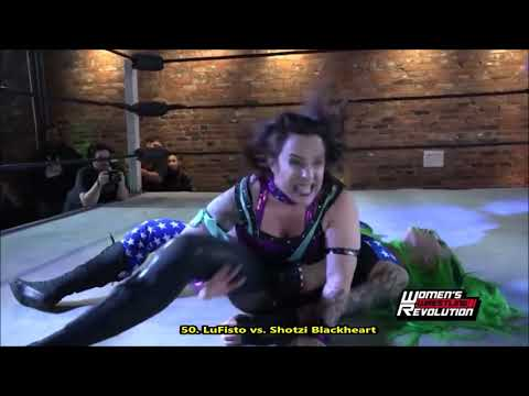 LuFisto - All Burning Hammer, Ankle Lock, Crossface, Powerbomb & DDT - 2019 Moves