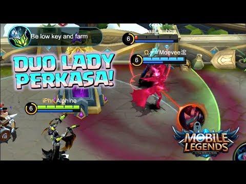 MAMPUS DIKEROYOK 2 CEWEK! HAHAHAHA • Mobile Legends - 동영상