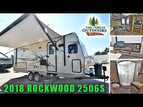 New 2018 Rockwood Mini Lite 2506S Front Kitchen Outside Kitchen Colorado RV Camper