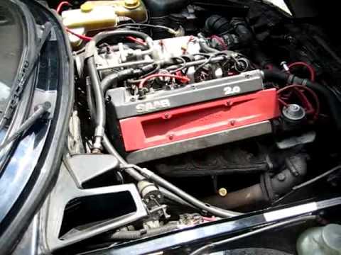 1993 Saab 900 Turbo Engine - YouTube
