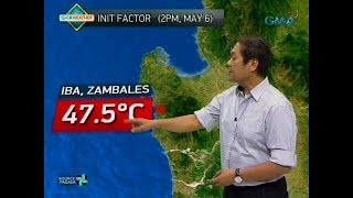 UB: Weather update as of 6:03 a.m. (May 7, 2018)