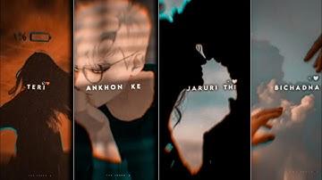 Teri Ankhon Ke Dariya Ka × lofi remix FullScreen Status    🥀 sad whatsApp status ✨ Aesthetic status