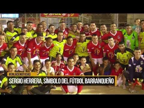 Sergio Herrera, símbolo del fútbol barranqueño