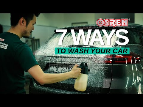7 Ways To Clean Your Car