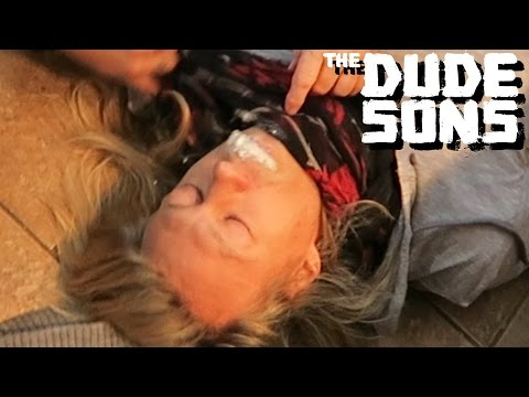 Jukka Gets Seizure Prank  The Dudesons